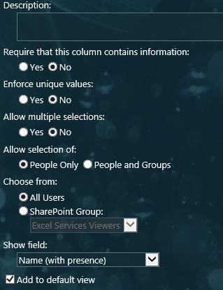 select group-sharepoint