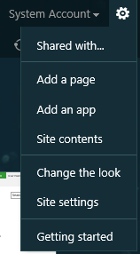 ورود به Site content